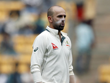 Nathan Lyon took 8/50 in the first innings in Bengaluru, before going wicketless in the second innings. AP