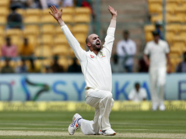 Nathan Lyon picks up career-best figures to put Australia in control. AP