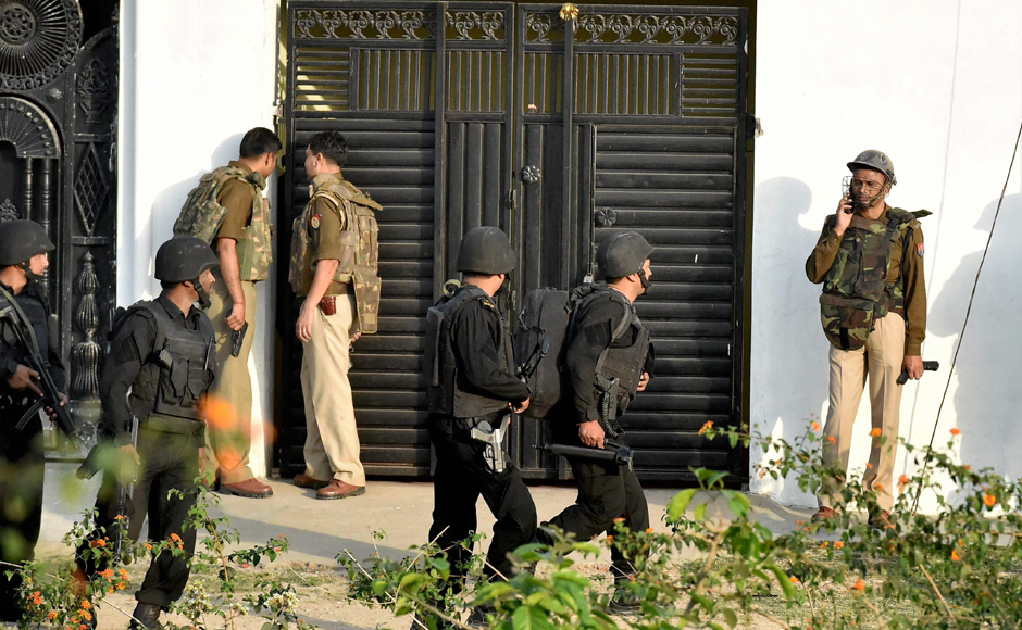 Lucknow encounter: Islamic State suspect killed after 12-hour anti-terror operation