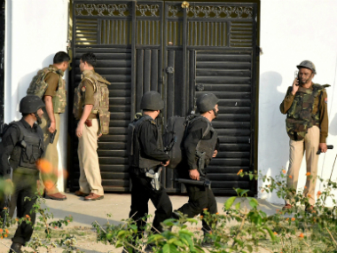Saifullah killed inside the building in the Thakurganj area of Lucknow in the wee hours of Wednesday. PTI