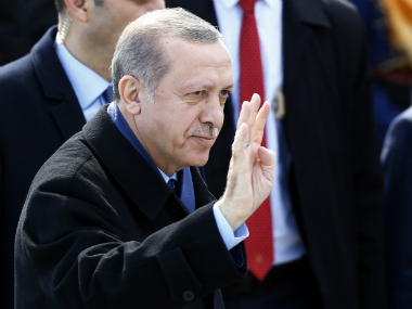 Turkish President Tayyip Erdogan. Reuters