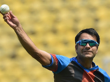 File photo of Afghanistan's Rashid Khan. AFP
