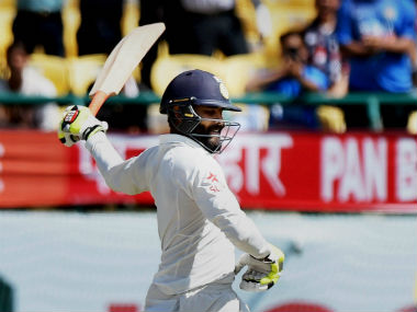 Ravindra Jadeja became only the third all-rounder to achieve the twin-feat of 500 runs and 50 wickets in a single season. PTI