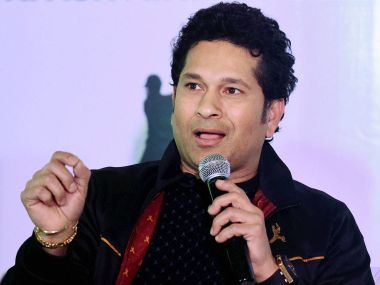 Sachin Tendulkar says he didn't know the importance of nutrition when he started playing cricket