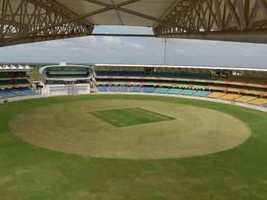 File image of Saurashtra Cricket Association Stadium in Rajkot. AFP