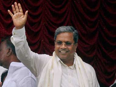 Karnataka Chief Minister Siddaramaiah. PTI