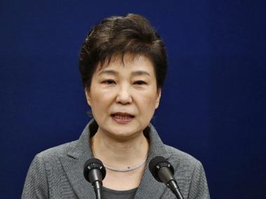 File photo of South Korean President Park Geun-hye. AP