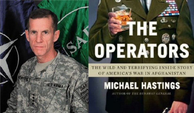 (L-R) Stanley McChrystal, The Operators by Michael Hastings