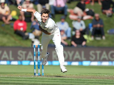File image of Trent Boult. Getty Images