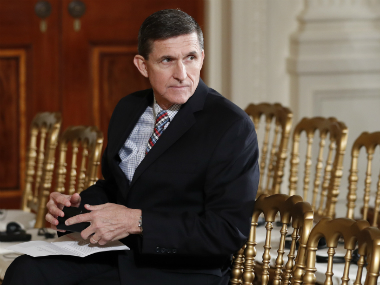 File photo of Michael Flynn. AP