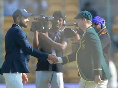 Virat Kohli and Steve Smith, captains of India and Australia respectively. AFP