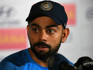 Virat Kohli decided to sign off from the series with a few fiery words. AFP