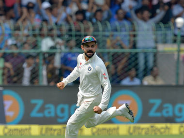 Virat Kohli has displayed excellent use of the crowd as 12th man in the ongoing home Test season. AFP