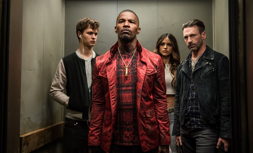 A still from Baby Driver. Image from Facebook