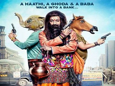 The poster of Bank-Chor. Twitter