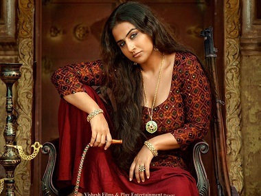 Vidya Balan in the first look of Begum Jaan. Twitter