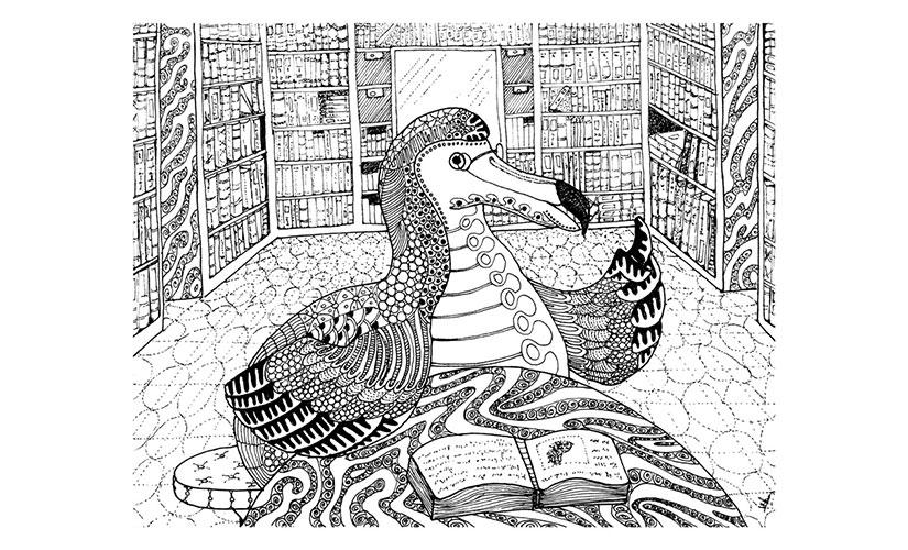 Dodo Dodont. Illustration by Nitin Mani