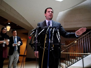 US House Permanent Select Committee on Intelligence Chairman Representative Devin Nunes. Reuters
