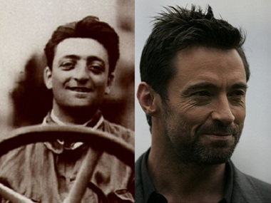 Enzo Ferrari and Hugh Jackman. Image courtesy: Creative Commons