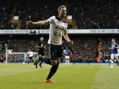 Harry Kane has been in fine form for Tottenham in the Premier League. AFP