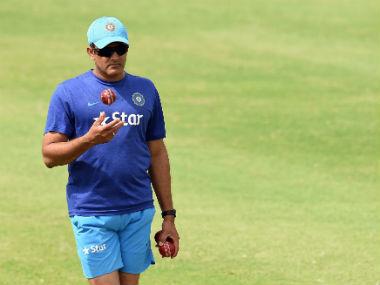 File photo of India coach Anil Kumble. AFP
