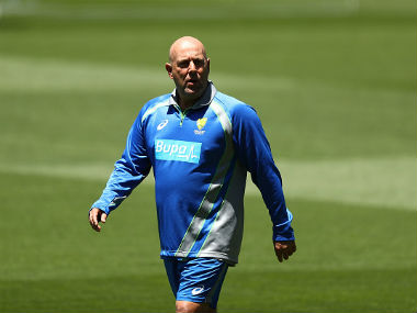 File photo of Australian coach Darren Lehmann. Getty Images