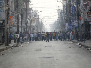 Madhesi protest. Representational image. Reuters