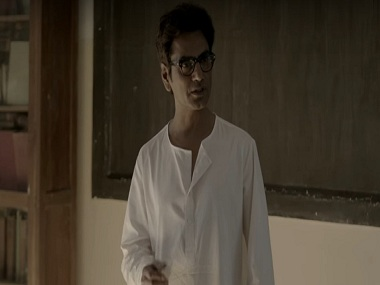 Nawazuddin Siddiqui as Saadat Hasan Manto in In Defence of Freedom. YouTube