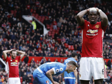 Manchester United squandered a lot of chances against Bournemouth. AP