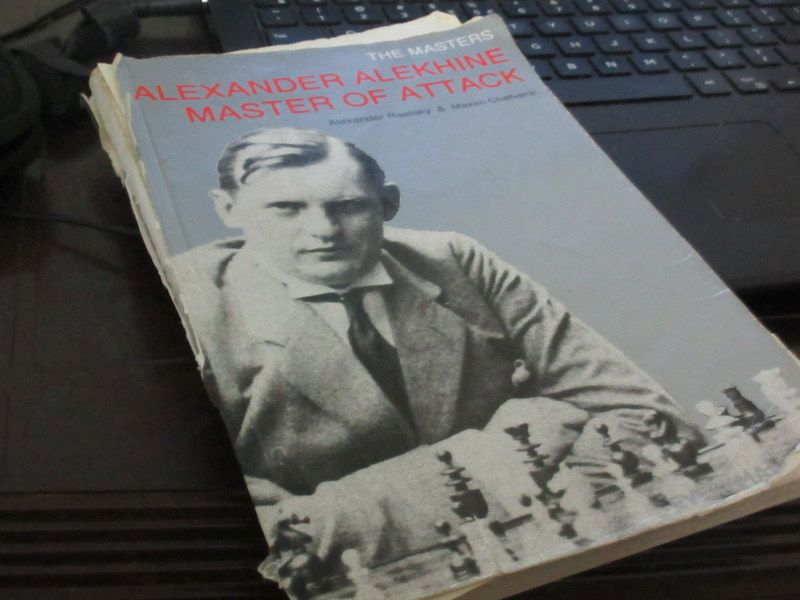 His favourite chessbook is a game collection of Alexander Alekhine, the 4th world chess champion.