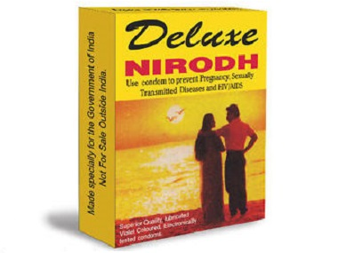 The very functional Nirodh packaging