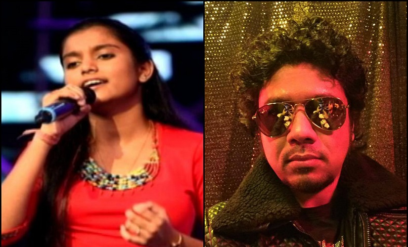 Nahid Afrin and Papon. Image from Facebook