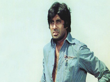 Amitabh Bachchan as Jai in Sholay