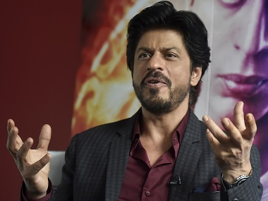 Bollywood actor Shah Rukh Khan speaks during an interview with Reuters at Madame Tussauds in London, Britain April 13, 2016. REUTERS/Hannah McKay - RTX29TPB