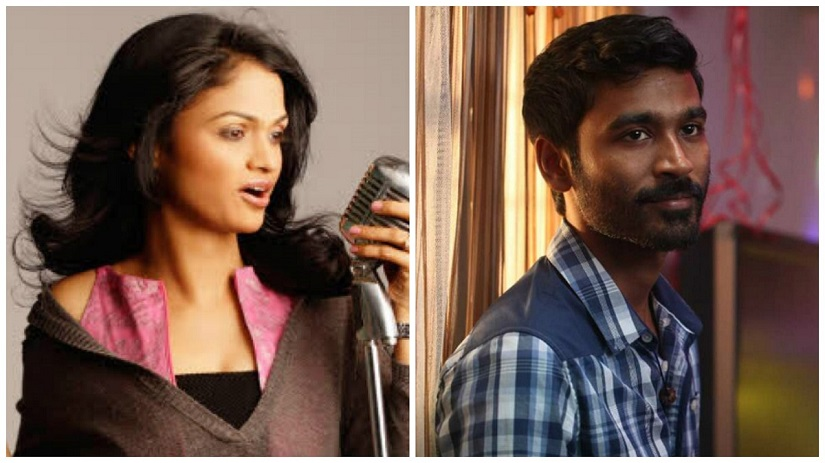 Suchitra's (L) tweets against Dhanush and other actors have triggered a storm