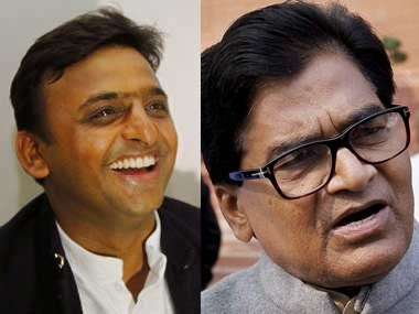Samajwadi Party feud Ramgopal defends Akhilesh lashes out at Shivpal