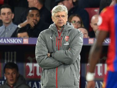 Arsene Wenger says Arsenal lost crucial duels against Crystal Palace. AFP