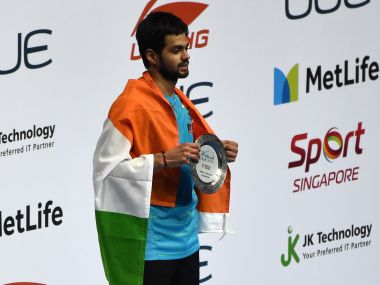 Singapore Open Sai Praneeths resolute defence clever use of smash won him maiden Superseries title