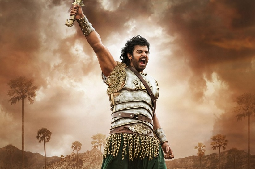 Prabhas in a still from Bahubali2/Baahubali 2: The Conclusion