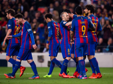 Barcelona face a struggling Sevilla side on Wednesday. Getty Images