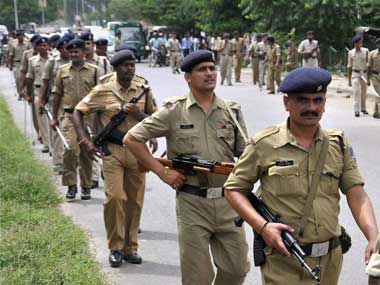 The Bihar police have increased security in the area. PTI representational image