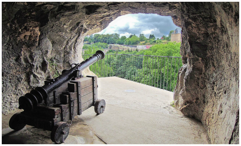 A view from the casemates. Image Courtesy: LoKiLeCh