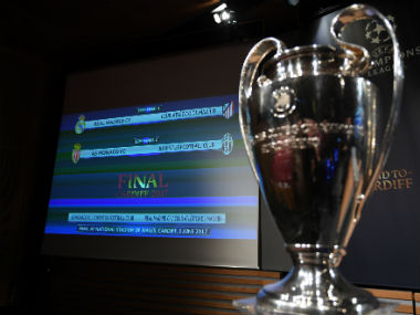 Champions League draw: Real Madrid face Atletico, Juventus play high-flying Monaco in semi-finals