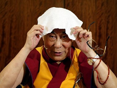 The Dalai Lama. Reuters
