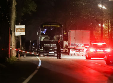 Champions League Islamist terror link probed after bomb attack on Borussia Dortmunds team bus