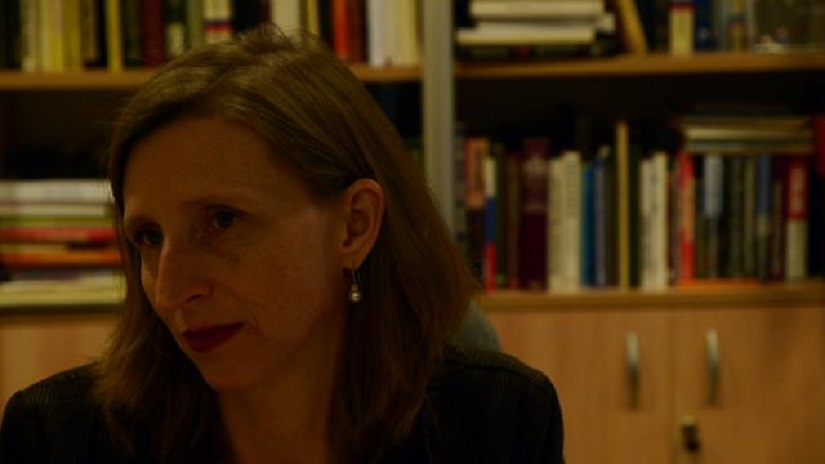 Ellen Barry will leave India this August, when her four-year stint as South Asia bureau chief for the New York Times ends. Image courtesy Ellen Barry's Facebook page