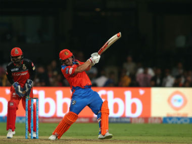 Gujarat Lions' Aaron Finch smashed a gritty half century to ensure crucial win over Bangalore. AFP
