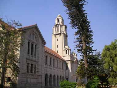 The Indian Institute of Science. Image courtesy: Wikimedia Commons
