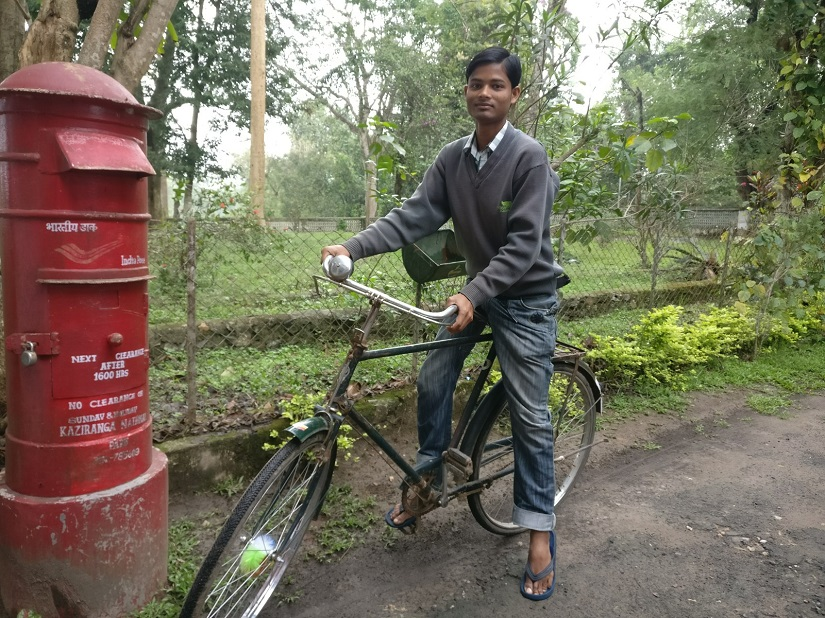 Dhan Bhasforao, 26, has been working at the lodge since 2007