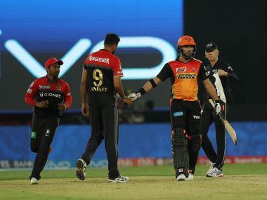 RCB's disastrous fielding helped SRH to victory in the first match of IPL 2017. PTI